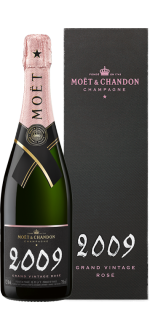 GRAND VINTAGE ROSE 2009 IN GIFT BOX - CHAMPAGNE MOET & CHANDON