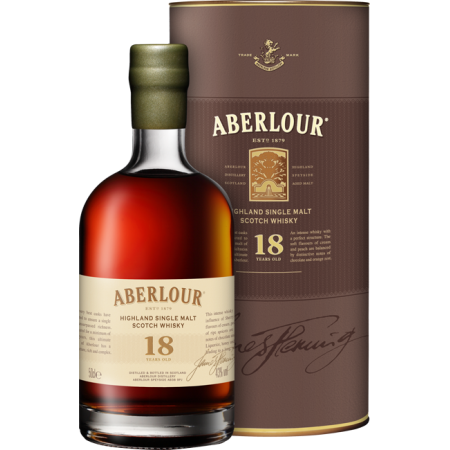 ABERLOUR 18 YEARS OLD 50 CL - EN ETUI