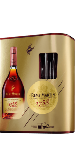 REMY MARTIN 1738 - EN GIFT SET 2 GLASSES