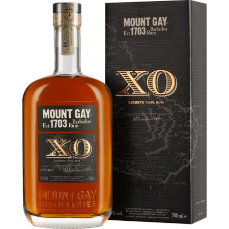 RUM MOUNT GAY XO - IN PRESENTATION CASE
