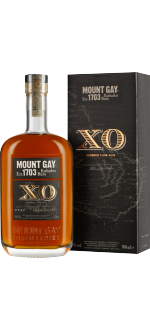 RUM MOUNT GAY XO - IN PRESENTATION CASE