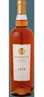 RIVESALTES GRANDE RESERVE 1959 - VIGNOBLES DOM BRIAL