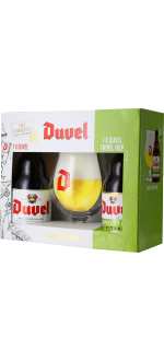 GIFT SET DUVEL 2*33CL (DUVEL + TRIPEL HOP CITRA) + 1 GLASS - BRASSERIE DUVEL MOORTGAT