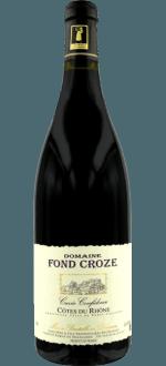 CUVEE CONFIDENCE 2016 - DOMAINE FOND CROZE
