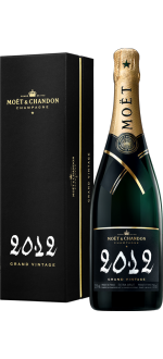 CHAMPAGNE MOET & CHANDON - GRAND VINTAGE 2012 - PRESENTATION CASE