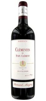 LE CLEMENTIN 2009 - SECOND VIN DU CHATEAU PAPE-CLEMENT (France - Wine Bordeaux - Pessac-Léognan AOC - Red Wine - 0,75 L)