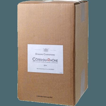 WINE BOX - COTES DU RHONE 2018 - DOMAINE CHANTEPIERRE