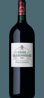 MAGNUM LA CROIX DE CARBONNIEUX 2015 - SECOND WINE CHATEAU CARBONNIEUX