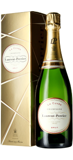 CHAMPAGNE LAURENT PERRIER - LA CUVEE - IN PRESENTATION CASE