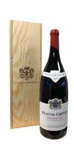 JEROBOAM BEAUNE GREVES 1ER CRU 2014 - CHATEAU DE MEURSAULT - IN WOODEN CASE