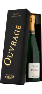 CUVEE OUVRAGE GRAND CRU - CHAMPAGNE LALLIER- CHAMPAGNE LALLIER - GIFT BOX
