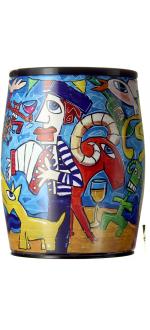 BOXED WINE - BIB ART - 3L - CAROLINE CAVALIER - LE BENJAMIN DE PUECH HAUT - RED