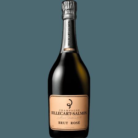 CHAMPAGNE BILLECART SALMON - BRUT ROSE - DEMI BOTTLE