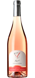 COTES DU RHÔNE ROSE 2018 - 3 SAINTS - CELLIER DES GORGES DE L'ARDECHE