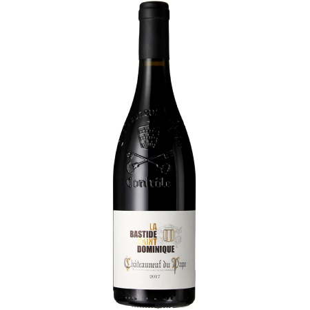 CHATEAUNEUF DU PAPE 2017 - LA BASTIDE SAINT DOMINIQUE