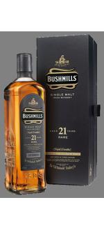 BUSHMILLS 21 YEARS OLD - EN GIFT SET