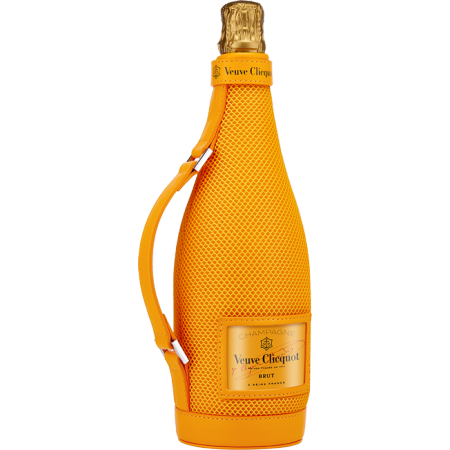 CHAMPAGNE VEUVE CLICQUOT - BRUT CARTE JAUNE - IN PRESENTATION CASE ICE JACKET