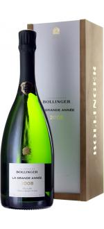 CHAMPAGNE BOLLINGER - LA GRANDE ANNEE 2008 - EN GIFT SET