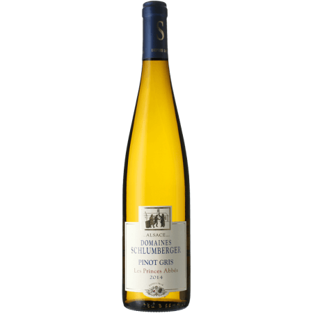 PINOT GRIS 2016 - LES PRINCES ABBES - DOMAINE SCHLUMBERGER