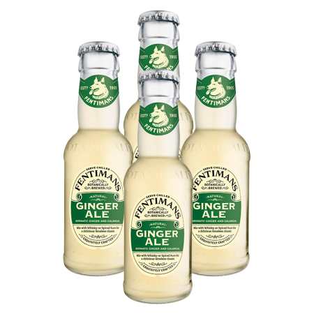 GINGER ALE - FENTIMANS - PACK DE 4 * 20CL