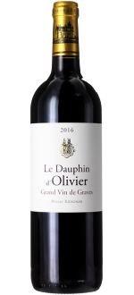 DAUPHIN D'OLIVIER 2016 - SECOND WINE OF CHÂTEAU OLIVIER