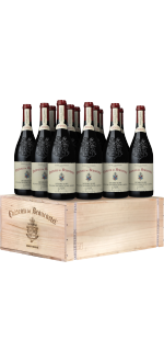 GIFT SET 12 BOTTLES OENOTHEQUE ( 2003 - 2006 - 2009 - 2012 ) - CHATEAU DE BEAUCASTEL