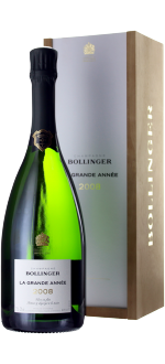 CHAMPAGNE BOLLINGER - LA GRANDE ANNEE 2008