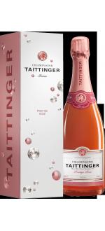 CHAMPAGNE TAITTINGER BRUT PRESTIGE ROSE - EN ETUI DIAMANT