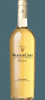 MOUTON CADET RÉSERVE SAUTERNES 2017 - BARON PHILIPPE DE ROTHSCHILD