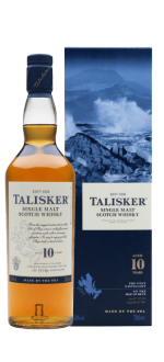 TALISKER 10 YEAR OLD WHISKY IN GIFT PACK