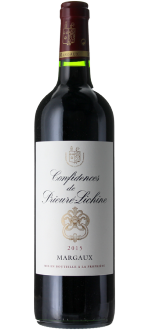 CONFIDENCES DE PRIEURE-LICHINE 2015 - SECOND WINE OF CHATEAU PRIEURE LICHINE