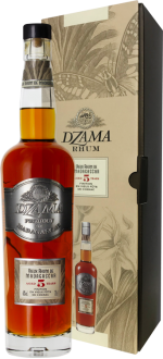 RUM DZAMA - VIEUX RUM 5 YEARS OLD FINITION COGNAC - EN ETUI