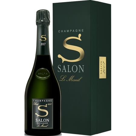 CHAMPAGNE SALON - BLANC DE BLANCS - S 2007 - LE MESNIL - LUXURY BOX