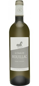 LE DADA DE ROUILLAC 2012 - SECOND WINE OF CHATEAU ROUILLAC (France - Wine Bordeaux - Pessac-Léognan AOC - White Wine - 0,75 L)