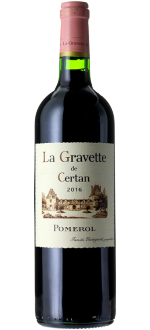 LA GRAVETTE DE CERTAN 2016 - SECOND WINE OF VIEUX CHATEAU CERTAN