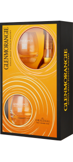 GLENMORANGIE THE ORIGINAL 10 YEARS OLD - EN GIFT SET 2 GLASSES