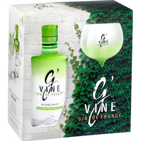 GIN G'VINE FLORAISON - EN GIFT SET 1 GLASS