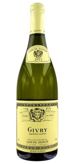 GIVRY BLANC 2013 - LOUIS JADOT (France - Wine Burgundy - Givry AOC - White Wine - 0,75 L)