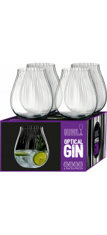 GIN SET OPTICAL - 4 GLASSES - REF 5515/67 - RIEDEL