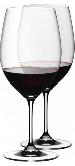 2 GLASSES CABERNET/MERLOT - REF 6416/0 - GAMME VINUM - RIEDEL