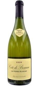 BLANC - LES PIERRES BLANCHES 2012 - DOMAINE DE LA VOUGERAIE (France - Wine Burgundy - Côte de Beaune AOC - White Wine - 0,75 L)