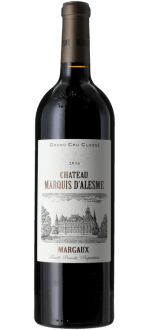 CHATEAU MARQUIS D'ALESME 2016 - 3EME CRU CLASSE