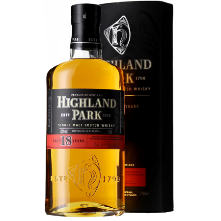 HIGHLAND PARK - 18 YEARS OLD - EN ETUI
