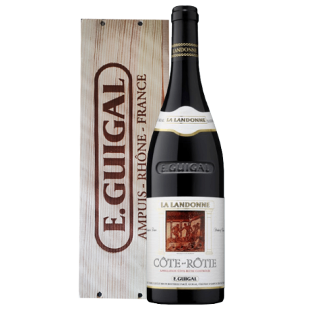 LA LANDONNE 2016 - WOODEN CASE - E.GUIGAL