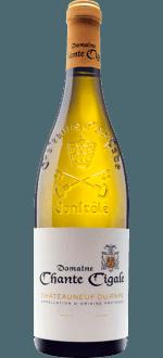 CHATEAUNEUF-DU-PAPE BLANC 2019 - DOMAINE CHANTE CIGALE