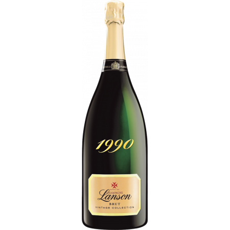 CHAMPAGNE LANSON - MAGNUM VINTAGE COLLECTION 1990 - WOODEN CASE