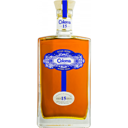 RUM COLOMA 15 YEARS OLD