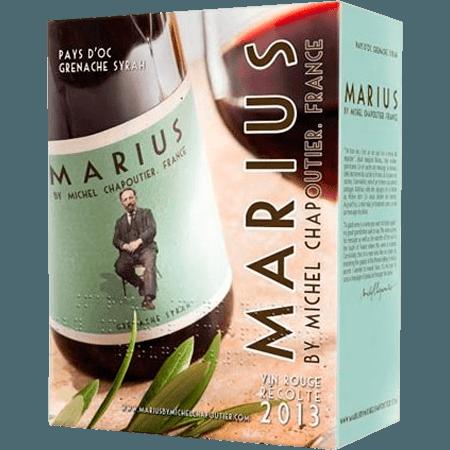 WINE BOX 5L GRENACHE SYRAH 2019 - MARIUS BY M. CHAPOUTIER
