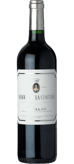 RESERVE DE LA COMTESSE 2015 - SECOND WINE OF CHATEAU PICHON LONGUEVILLE COMTESSE DE LALANDE