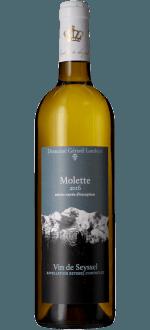 MOLETTE SEYSSEL BIO 2018 - DOMAINE GERARD LAMBERT